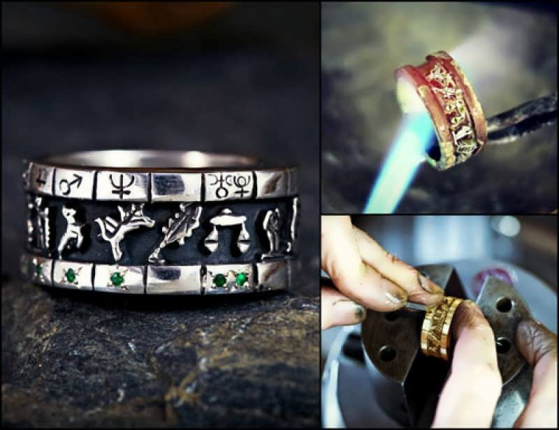 Personalized Sigil Ring