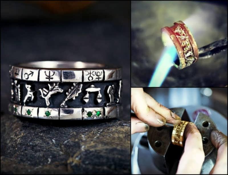 Personalized Sigil Ring