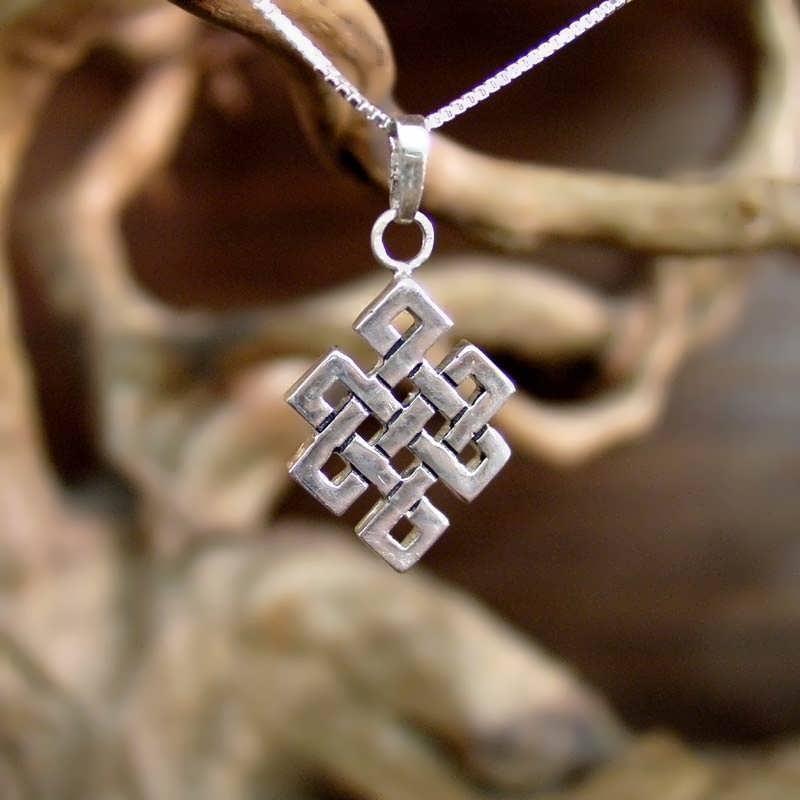 New Tibetan Knot Pendant