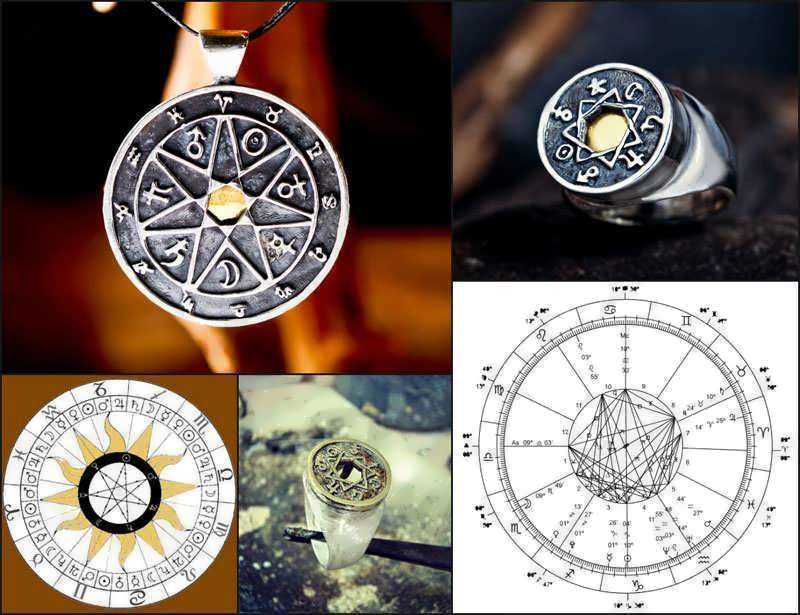 7 metals Chaldean Astrology Talismans