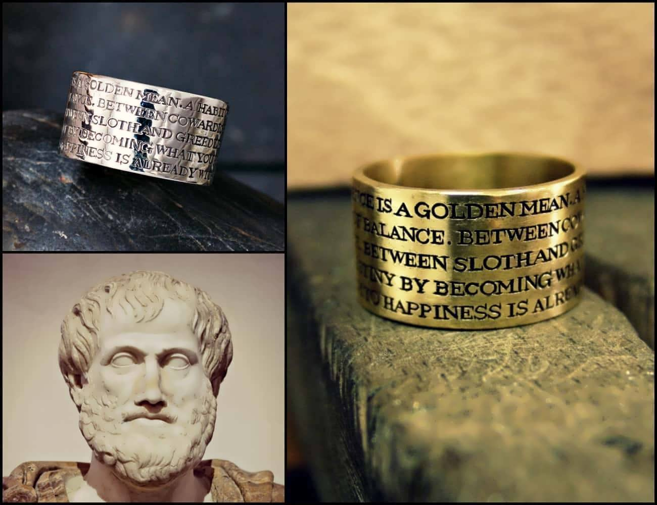 Aristotle Ring of                             Excellence