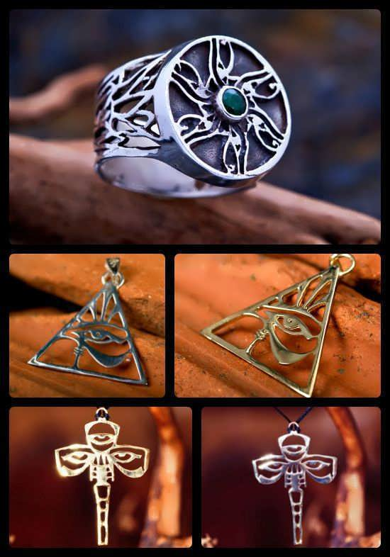 Eye of Horus Jewelry