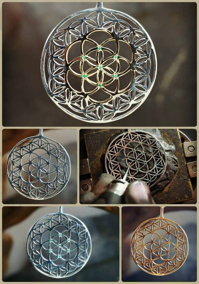 Flower of Life with Seed of Life