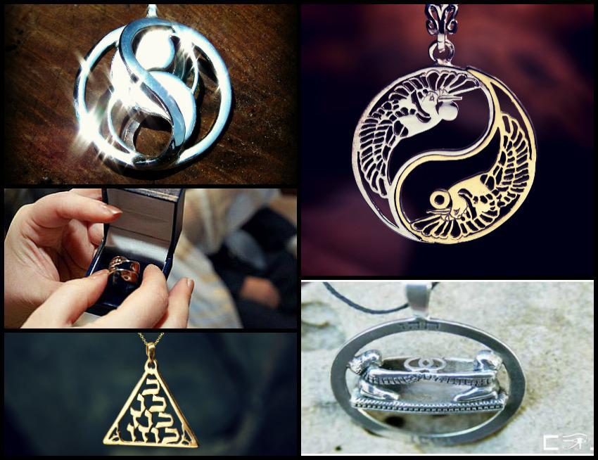 Light pendant related jewelry