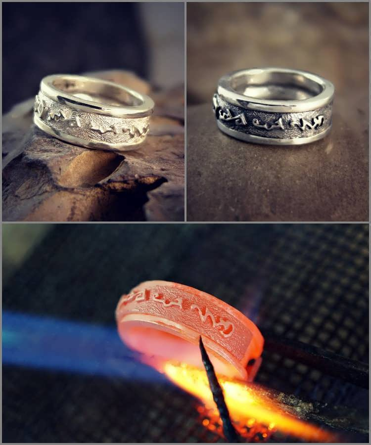 Over Soul Ring Silver