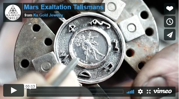 Mars Exaltation Talismans