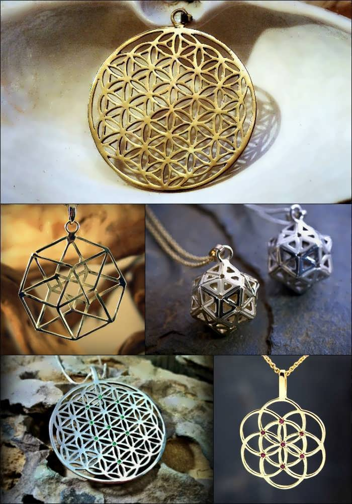 Metatron's Cube Related Designs