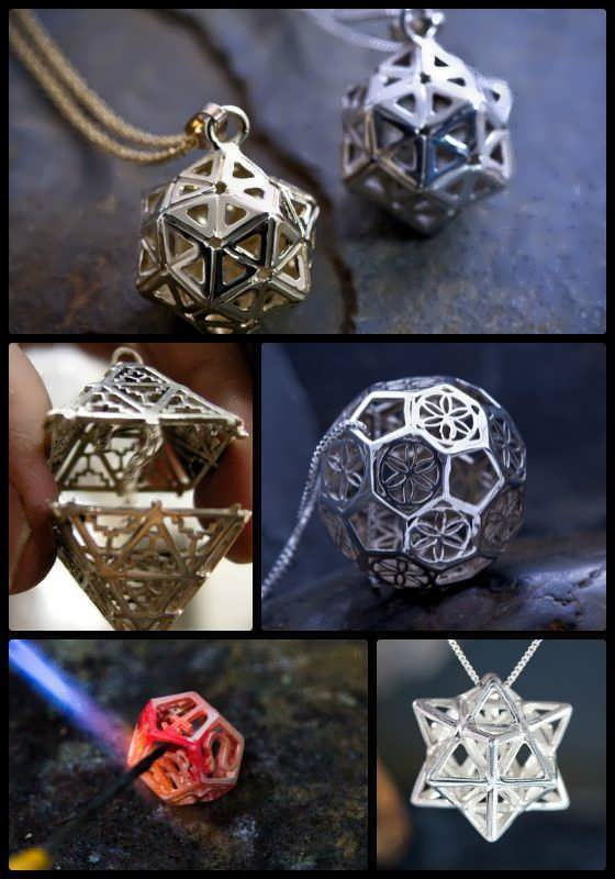 Platonic Solids Jewelry