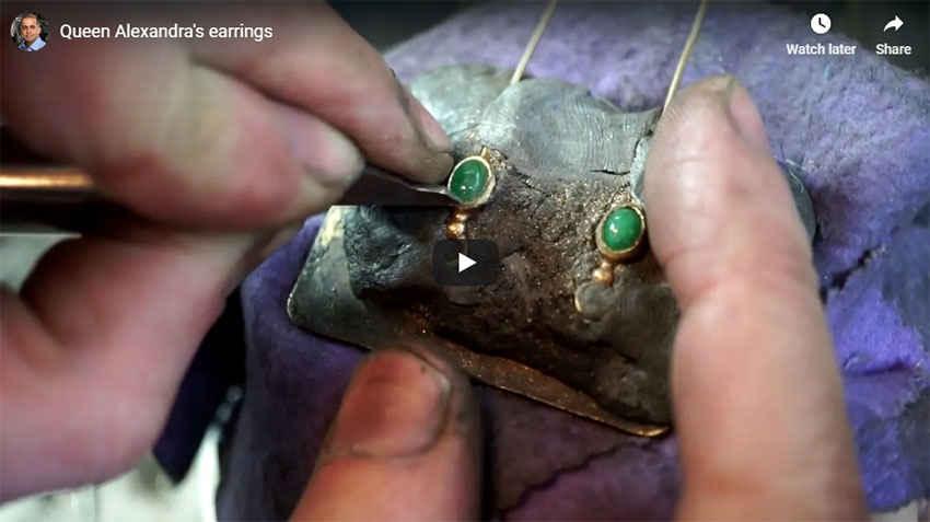 Queen Alexandra Shlomzion Earrings