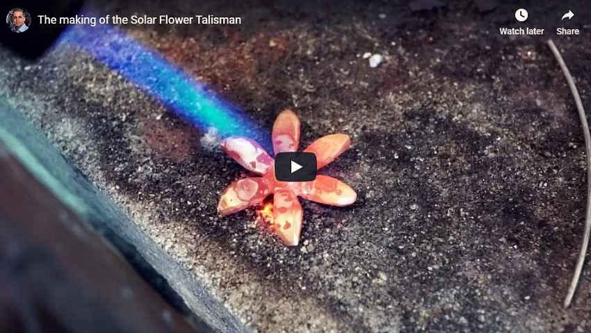 New Solar Flower Video