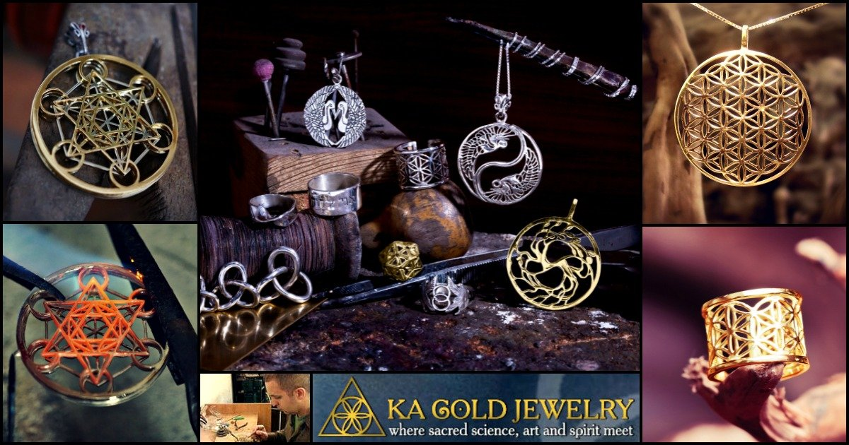 ka gold jewelry authentic sacred geometry jewelry and. Black Bedroom Furniture Sets. Home Design Ideas