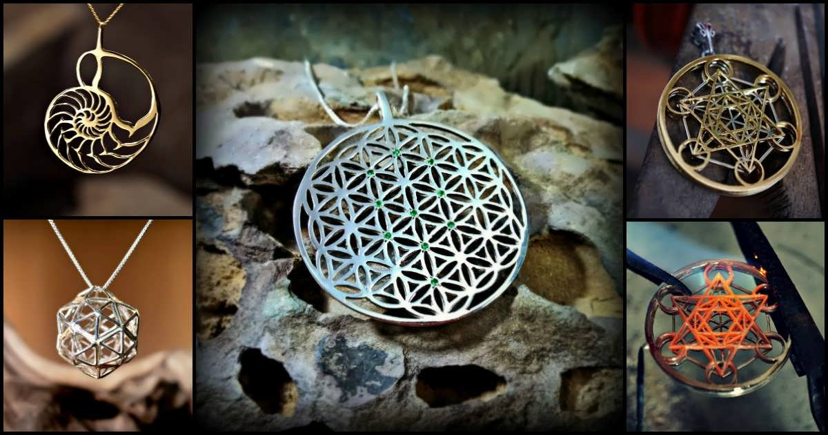 Sacred geometry jewelry aloadofball Gallery