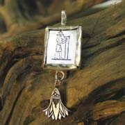 Кулон «Водолей», серебро (*Sold Out!*) 582