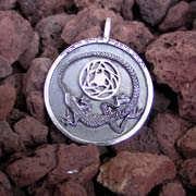 Colgante de plata Adivinación 528