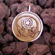 Divination Pendant Gold 529