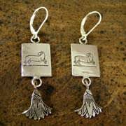 Aries Earrings Silver 497