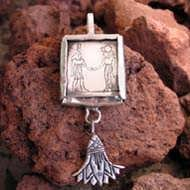 Gemini Jewelry Pendant Silver (*Limited Edition*) 481