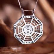 I Ching Pendant Silver 210