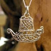 Кулон «Путешествие», серебро 612