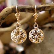 Ka Earring Gold with Diamonds with Diamond 675