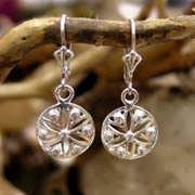 Ka Earrings Silver with Zircons 674