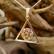 Ka Pendant Gold With Diamonds 676