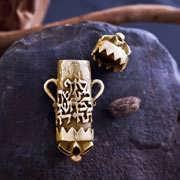 Karma Pendant Gold 346