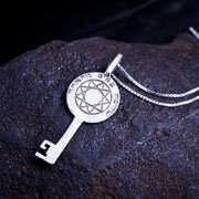 Melchizedek Schlüssel Silber 64