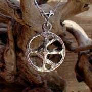 One Race Pendant Silver
