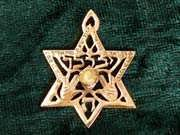 Priestly blessings star gold 233