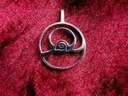 Ciondolo dell'abbondanza (SHEFA) - piccolo - argento 459