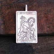 Tarot Empress Pendant Silver 542