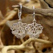 The Fire Element Earrings Silver 650