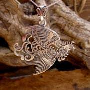 The Fire Element Pendant Silver 596