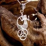 The Water Element Pendant Silver 602