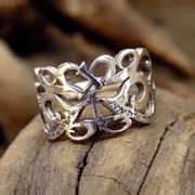 This Too Shall Pass Ring Silver 610