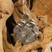 Women Empowerment Famulet Silver 555