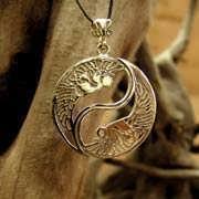 Кулон «Инь и Ян», золото 615