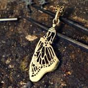 Inlaid Pendant of Acceptance Gold