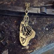 Pendant of Acceptance Gold 908