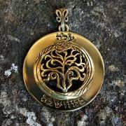 Key of Ascension Pendant Gold 921