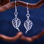 Buddhi Earrings Silver 483