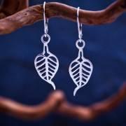 Buddhi Earrings Silver