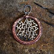 Copper Snake Talisman Silver and Copper 870