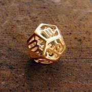 Cosmic Zodiac Pendant Gold 488