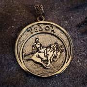 Eleventh Mansion Talisman (Azbora) Gold (*Sold Out!*)