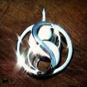 Кулон «Переплетение», серебро 477
