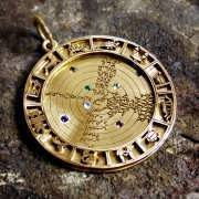 Image of the Cosmos Talisman Gold (*Last Two!*) 770