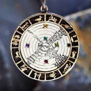 Image of the Cosmos Talisman Silver and Gold (*Limited Edition*) 769