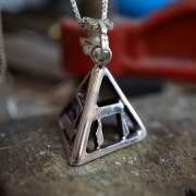 The Fifth Element Pendant Silver